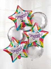 Congratulations Balloon Bouquet
