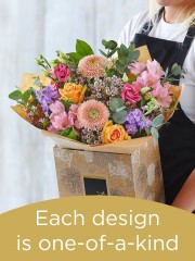 Hand-tied Bouquet £40