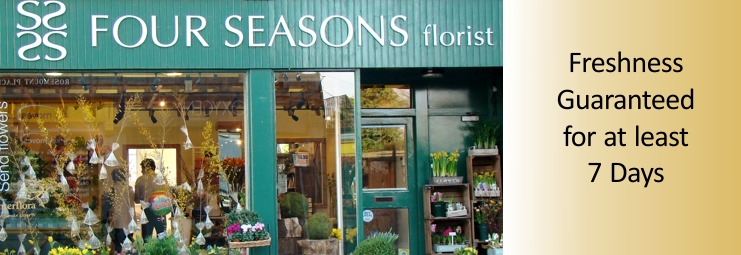 Fresh Glasgow Flowers, delivered to your door! By Four Seasons Florists Glasgow!